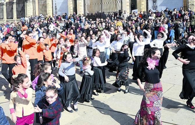 social indio baile en Jaén