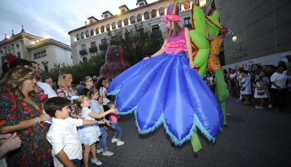 casado bailarines salida en Jaén