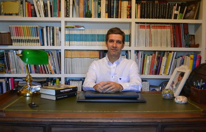 HISTORIA. El capitán de la Guardia Civil y escritor Agustín Pulido.