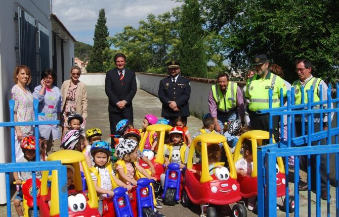 Los ni os aprenden a circular - Jefatura provincial de trafico madrid ...