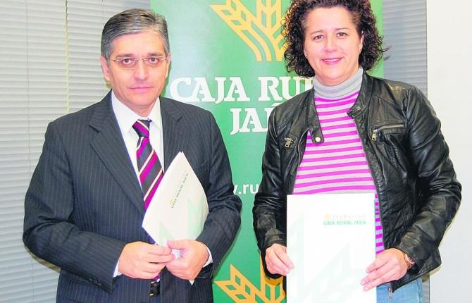 Firma de un convenio para el fomento del deporte local for Caja rural jaen oficinas