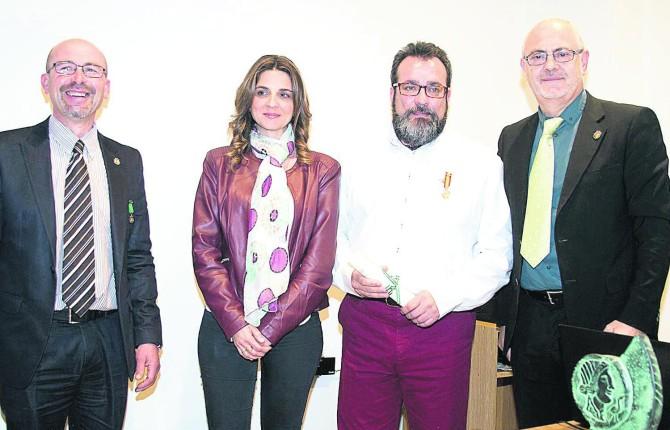 EXPRESIONES. Troyano, Marín, Camacho y Ozáez, en la cita literaria.