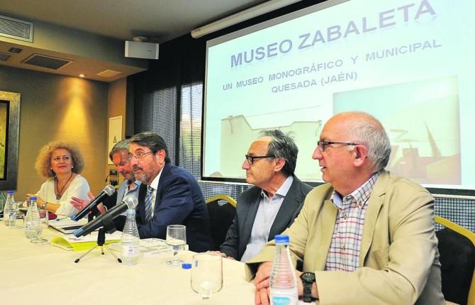 MESA REDONDA. Rosa Valiente, José Ángel Marín, Pablo Carazo, Pedro Galera y Gabriel Ureña.