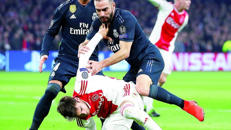 El Real Madrid sale vivo de la emboscada del Ajax